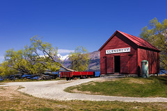 Glenorchy Wharf & Historic Railway Shed, Glenorchy, New Zealand (MelvinNicholsonPhotography) Tags: glenorchy newzealand wharf railwayshed shed railway otago