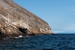 Tagus Cove, Isla Isabela (skydawgz13) Tags: ecuador galapagosislands galapagos celebrityxpedition travel southamerica equator taguscove islaisabela sea cliff ocean water rock boat las