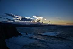 DSC_1336 (serborj) Tags: mar cantabrico spain sunrise asturias cabobusto anochecer sol puestadesol