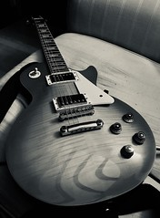 Burst (Chris.T74) Tags: blackandwhite monochrome tone humbucker music electric gibson epiphone guitar