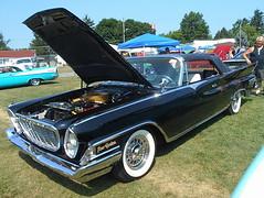 1961 Chrysler New Yorker Convertible (splattergraphics) Tags: 1961 chrysler newyorker convertible forwardlook mopar carshow carlisle carlisleallchryslernationals carlislepa