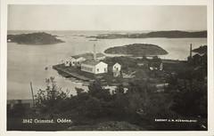 Postkort fra Agder (Avtrykket) Tags: maløya gundersholmen postkort skipsopphugging skjærgård grimstad austagder norway nor