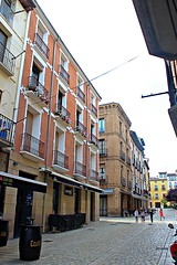 Tudela (Navarra) España. (Txemari - Argazki.) Tags: calle niños mercadal tudela navarra bar