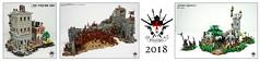 2018 Recap (Barthezz Brick) Tags: lego 2018 review recap barthezzbrick brick barthezz custom moc afol medieval got game thrones lotr lordoftherings marvel spiderman