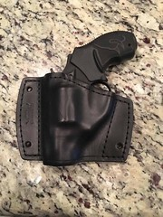 IMG_3116 (americanleathersmith) Tags: carholster leatherholster gunholster concealcarry holster mounted leather
