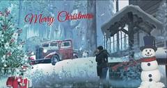 Happy Holidays!!! (Skip Staheli *10 YEARS SL PHOTOGRAPHER*) Tags: christmas staheli skipstaheli delindastaheli family inworld winter holidays snow snowflakes werble secondlife sl home
