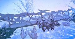 Blog #201 Tm:.Creation - The Bridge Seasonal (Suzie Coba Esquire) Tags: winter seasonal bridge tm creation lanscape outdoors secondlife decoration event sanarae exclusive