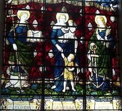 [67952] All Saints, Gainsborough : Faith, Hope & Charity (Budby) Tags: gainsborough lincolnshire church window stainedglass