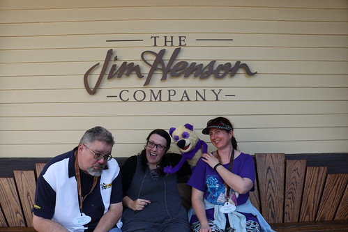 "Scott and Tracey with a Muppet at the Jim Henson Studio • <a style=""font-size:0.8em;"" href=""http://www.flickr.com/photos/28558260@N04/45803280151/"" target=""_blank"">View on Flickr</a>"