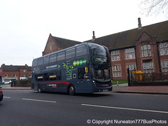 SN15LHW 6743 (Manahil) National Express Platinum West Midlands in Lichfield (Nuneaton777 Bus Photos) Tags: national express platinum west midlands adl enviro 400mmc sn15lhw 6743 manahil lichfield