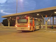 """Mercedes O530 Citaro C2, """"Start Parking"""" (transport131) Tags: bus autobus mercedes citaro o530 evobus start parking warszawa warsaw waw"""