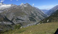 D20000.  Zermatt from the Gornergratbahn. (Ron Fisher) Tags: schweiz suisse svizzera switzerland kantonwallis valais cantonvallese europa europe zermatt sony sonyrx100iii sonyrx100m3 compactcamera