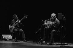 190111 FLAMENCO (7) (FgJZgZ) Tags: bn bw blancoynegro biancoenero noiretblanc monocromo monochrome flamenco livemusic concierto auditorio sabiñánigo guitarra guitarrista bajo bajista josémaríajiménez josuébarrés