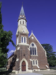 St Andrew's Presbyterian Church, Inverell NSW, built 1878 - see below (Paul Leader - Paulie's Time Off Photography) Tags: church heritagelisted inverellnsw presbyterianchurch standrewspresbyterianchurch olympus olympusomdem10 paulleader architecture oldbuilding building heritagebuilding god christian christianity saviour savior faith bell belltower northerntablelands nsw newsouthwales australia