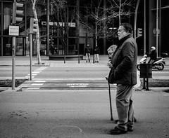 """Part of me"" Barcelona Spain 2018 (Sayman K) Tags: barcelona 2018 street sony a6300 socialclasses bw bnw blackandwhite streetphotography spain"