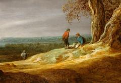 Jan van Goyen. Landscape with Two Oaks. 1641. detail (arthistory390) Tags: rijksmuseum