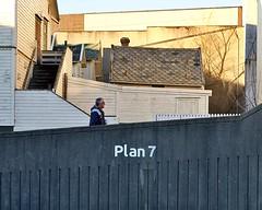 Plan7 (StoresundPhoto) Tags: man people male street streetphoto sun sunset sky houses urban portrait photo perspective photo2019 norway norge haugesund rogaland pln plan plan7 town city