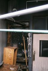 Back road rock (Kana Sasamoto) Tags: photography film filmphotography streetphotography exterior japan