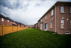 oakville_green-grass_houses_clean_clouds_01_8780047358_o (wvs) Tags: alley clouds home house oakville people sky street suburb toronto ontario canada can