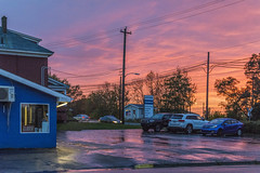 Sunset Colours over Industrial Cape Breton (fotofrysk) Tags: sunsetcolours sunset colours evening industry parkinglot utilitypoles trees schoolstreet kingsroad cbrm capebretonregionalmunicipality canada novascotia capebreton sydney sigma1750mmf28exdcoxhs nikond7100 201810219618