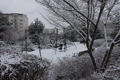Playground @ Parc Vignières-Pommaries @ Snow @ Annecy-le-Vieux (*_*) Tags: winter hiver afternoon january 2019 snow neige cold europe france hautesavoie 74 annecy annecylevieux savoie parcvignierespommaries park white