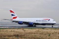G-XLEA Airbus A380-841 EDDF 23-08-13 (MarkP51) Tags: gxlea airbus a380841 a380 britishairways ba baw frankfurt airport flughafenfrankfurtammain frankfurtammain flughafen rheinmain hessen germany fra eddf airliner aircraft airplane plane image markp51 nikon d5000