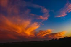 Naplemente (Sunset) (Péter Vida) Tags: sunset landscape sky natural