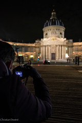 Taking a picture of Institut de France