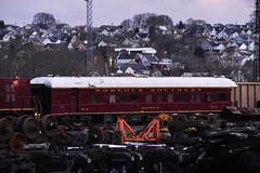 NS 36 (csx7661) Tags: norfolksouthern railroad railway railfan photography nikon ns engineering research track altoonaworks altoona pennsylvania blaircounty trackinspection steel