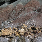 Paleosol (Cave Branch Member, Slade Formation, Upper Mississippian; Clack Mountain Road Outcrop, south of Morehead, Kentucky, USA) 14 thumbnail