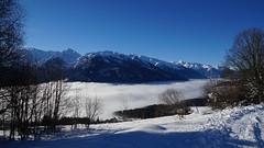 Above the clouds (Stefan Jürgensen) Tags: clouds mist mountains sky bluesky snow austria europe salzachtal trees schnee berge alps alpen landsalzburg