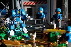Keeping The Piece (L.K Designs) Tags: lego legomoc legospace legomech mech robot concept legorobot
