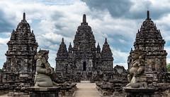 Sewu Temple in Yogyakarta, Indonesia