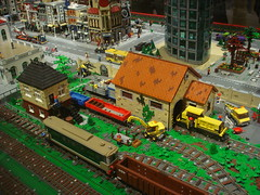 DSC05024 (fdsm0376) Tags: lego exposition madrid 2018 castle roma winter village city ww2