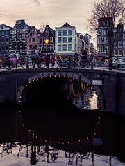 A0153086 (rpajrpaj) Tags: amsterdam city netherlands nederland nederlandvandaag bluehour thebluehour cityscape citylights
