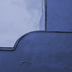 the last step (msdonnalee) Tags: stairway blue 青blauأزرقbleuazzurroazul