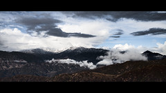 (In my entirety) Tags: 5dii sigma 35mm 14 art mountain snow landscape clouds