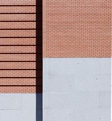 Madrid in detail (joannab_photos) Tags: minimalism architecture d'un wall bricks prado madrid