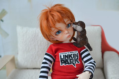 Tiny otter come. (Fenekdolls) Tags: bjd doll otter toy