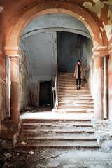 La scala (antoniopedroni photo) Tags: scala stairway home house haunted aandoned abbandonata infestata lacorte