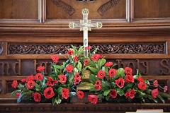 IMG_2441 (lesleydoubleday) Tags: meltonmowbray meltonboroughscenes stmaryschurch poppies