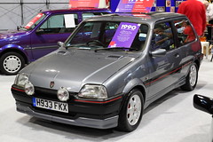 Rover Metro GTA (JoRoSm) Tags: lancaster insurance classic motor show nec birmingham car cars automobile auto nationalexhibitioncentre carshow 2018 sports performance classics yesteryear polished rides wheels canon 500d tamron rover metro gta british england english hatch hatchback grey eos transport national exhibition centre indoor