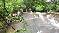 Sliding Rock Falls (Probee) Tags: north carolina august 2016 sliding rock falls maddison usa