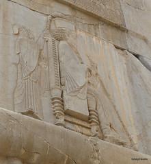 005 Hundred Column Hall (Sedsetoon), Southern Doorway, Persepolis (1).JPG (tobeytravels) Tags: artaxerxes xerxes ahurmazda alexanderthegreat