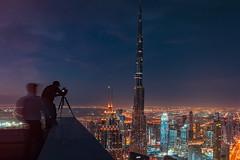 Night meets day (Moody Fotografi) Tags: dubai rooftop skyscraper burjkhalifa photographers nikon tamron d750 cityscape nightscape uae dubaimall