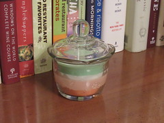 Candle making - Dec 2018 (ianulimac) Tags: making craft thrift store cup soywax soy wax wick layers homemade crafting christmas gifts hobby masonjars thriftstore glasses coffeecups teacups sugarbowls creamer icecreamcups dessertcups stripes red green easy diy reuse upcycle reclaim handmade