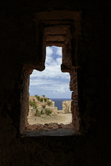 Through The Window (Crisp-13) Tags: rethymno crete fortezza old town