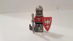 Knight of Poland (Treunsty) Tags: lego brickforges minifig figurine medieval moyenâge bricks blocks chevalier poland
