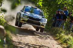 2018-109 (Tomasz Seweryn) Tags: tomaszseweryn redpixel fotografiarajdowa rajdpolski rallypoland szuter gravel mikołajki fia erc