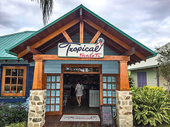 Tropical Trinkets On Harvest Caye, Belize_01 (brucekester@sbcglobal.net) Tags: harvestcaye belize norwegiancruiselines tropicaltrinkets caribbeanisland souvenir jewelry snapcharms flipflops souvenirshop